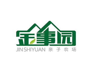 金事园logo设计