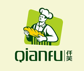 仟芙高端面包品牌logo设计
