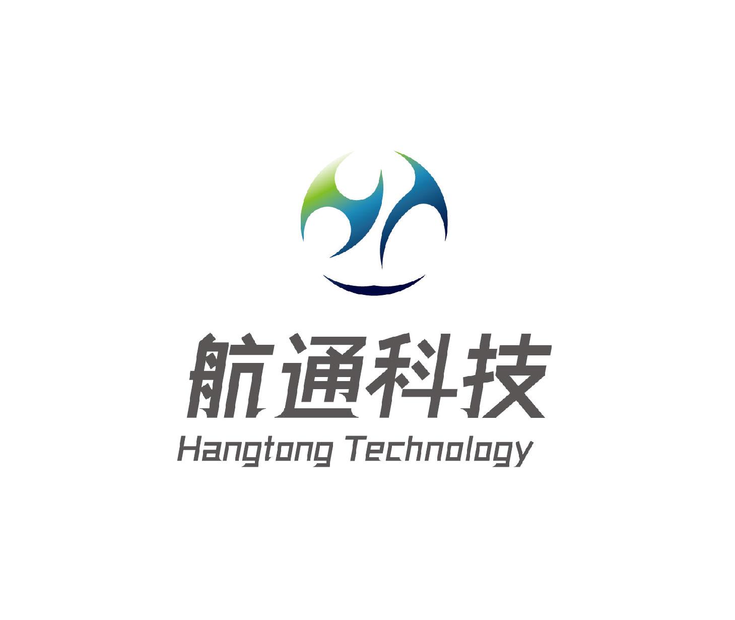 航通科技logo设计