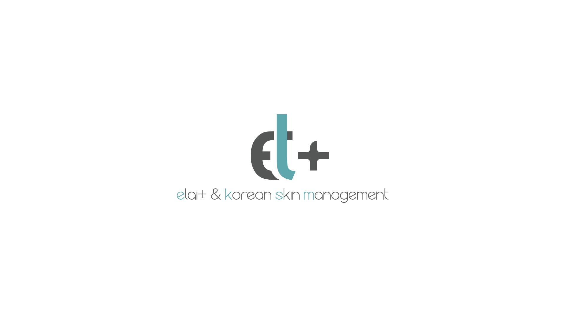 ELAI韩式皮肤管理logo设计
